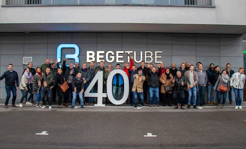 Begetube 40 ans
